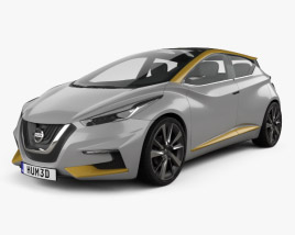 3D model of Nissan Sway 2015