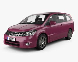 3D model of Nissan Presage 2006