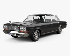 3D model of Nissan President Type D 1973