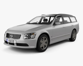 3D model of Nissan Stagea 2001