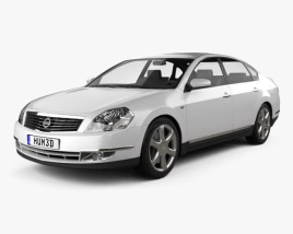 3D model of Nissan Teana 2006