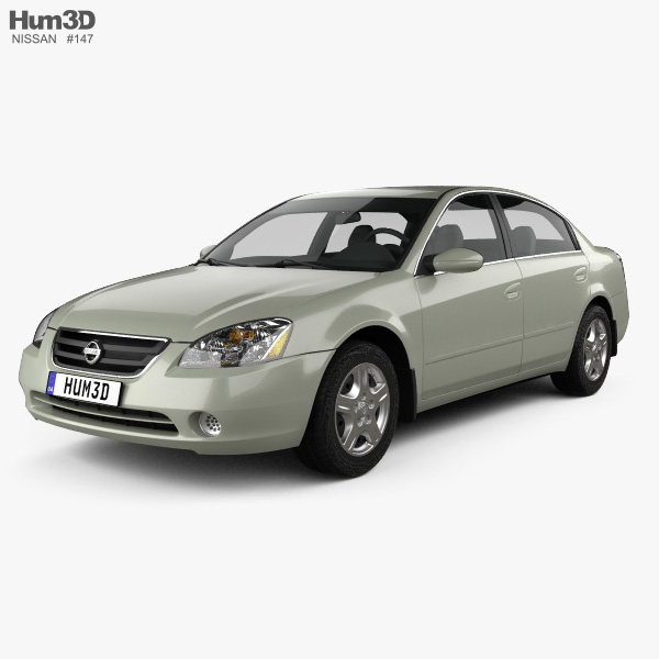 3D model of Nissan Altima S 2002