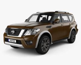Nissan Armada 2017 3D model