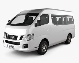 3D model of Nissan Urvan (NV350) LWB HR 2012