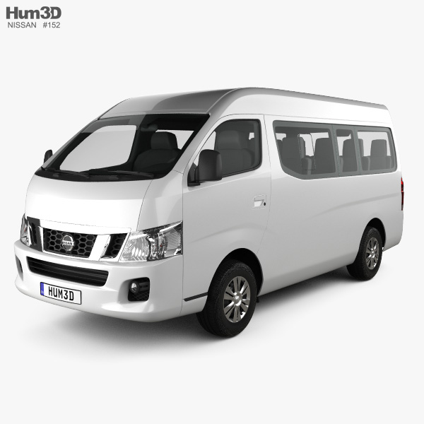 Nissan Urvan (NV350) LWB HR 2012 3D model