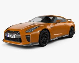 3D model of Nissan GT-R 2017
