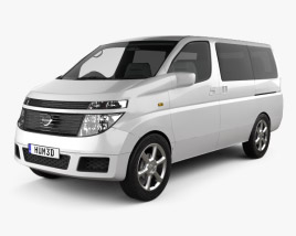 3D model of Nissan Elgrand 2002