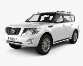 3D model of Nissan Patrol (CIS) 2014
