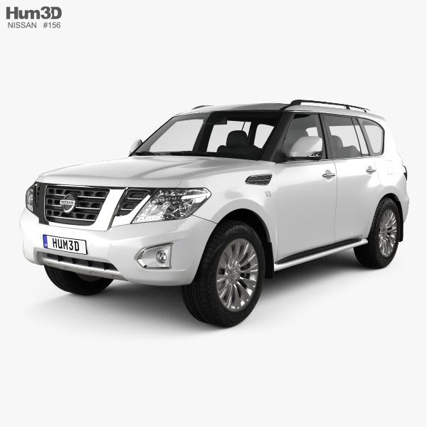 Nissan Patrol (CIS) 2014 3D model