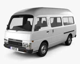 3D model of Nissan Caravan Urvan LWB HR 1985