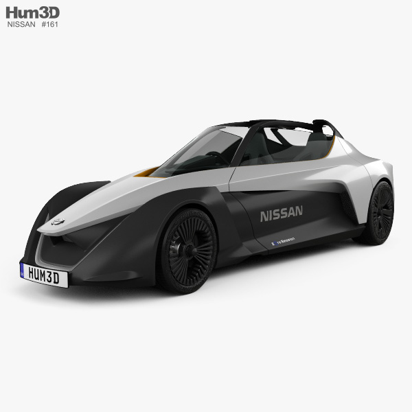 Nissan BladeGlider 2016 3D model