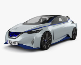 3D model of Nissan IDS 2015
