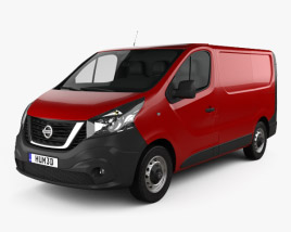 3D model of Nissan NV300 Panel Van L1H1 2016