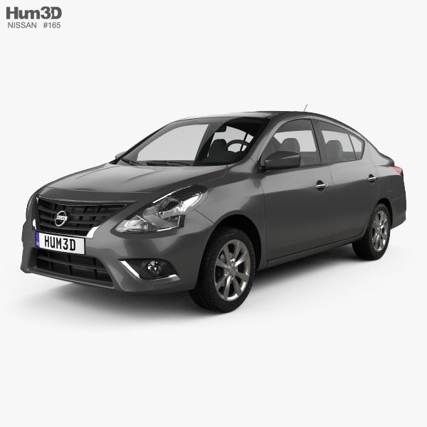 Nissan Versa Sense 2015 3D model