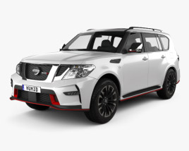 3D model of Nissan Patrol Nismo 2014