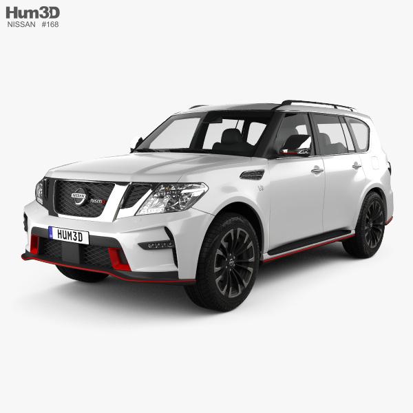 Nissan Patrol Nismo 2014 3D model