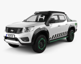 3D model of Nissan Navara EnGuard 2016