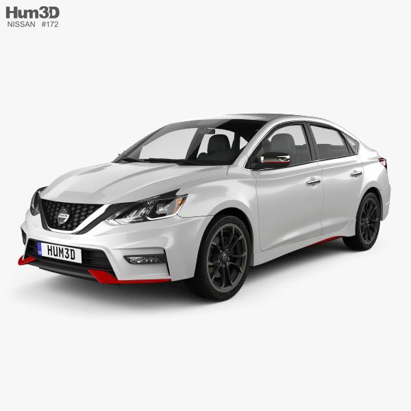 Nissan Sentra Nismo 2017 3D model