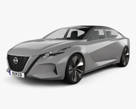 3D model of Nissan Vmotion 2.0 2017