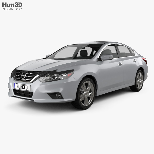 3D model of Nissan Altima SL 2016