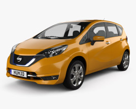 3D model of Nissan Note e-Power (JP) 2016