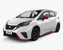 3D model of Nissan Note e-Power Nismo 2016