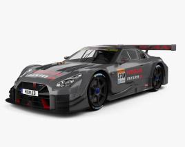 3D model of Nissan GT-R GT500 Nismo 2017