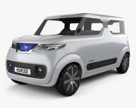 3D model of Nissan Teatro for Dayz 2015