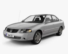 3D model of Nissan Sentra SE-R 2004