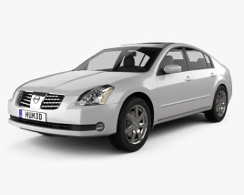 3D model of Nissan Maxima SL 2004