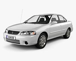 3D model of Nissan Sentra GXE 2001