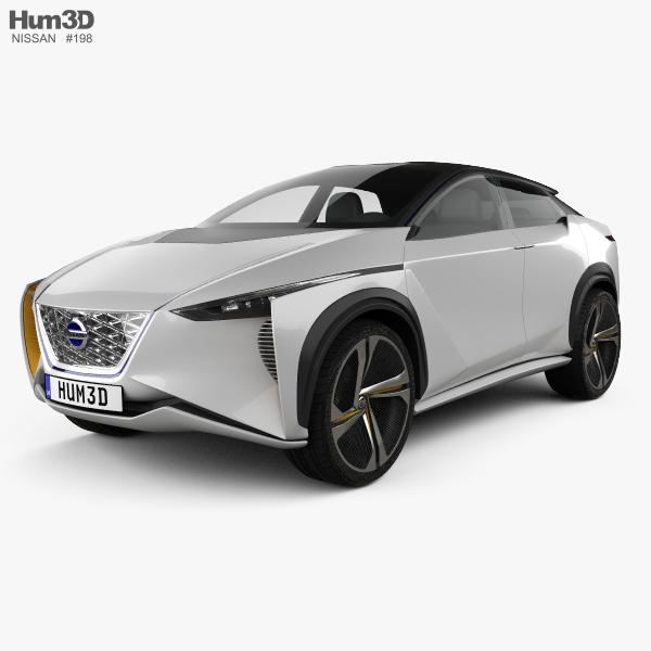 Nissan IMx 2017 3D model