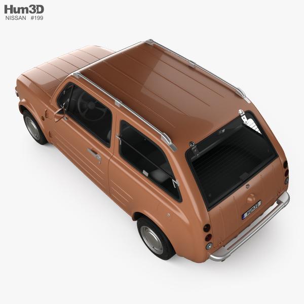 Nissan Pao 1989 3D model