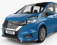Nissan Serena Autech 2016 3d model