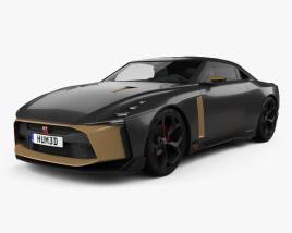 3D model of Nissan GT-R50 2018