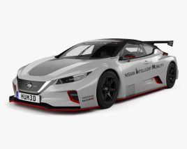 3D model of Nissan Leaf Nismo RC 2018