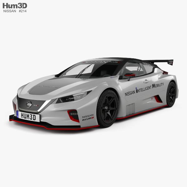 3D model of Nissan Leaf Nismo RC 2018