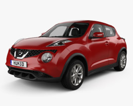 3D model of Nissan Juke with HQ interior 2015