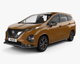 3D model of Nissan Livina 2019