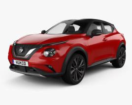3D model of Nissan Juke 2020