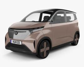 3D model of Nissan IMk 2019