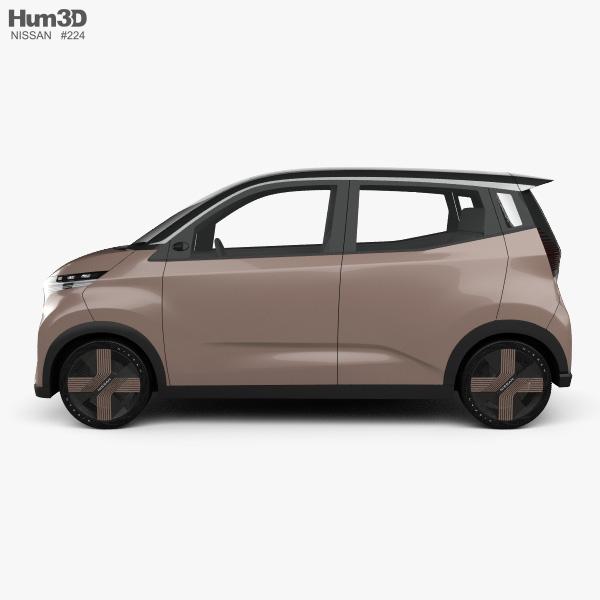 Nissan IMk 2019 3D model