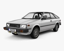 3D model of Nissan Sentra 1983