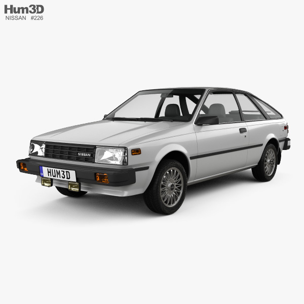 Nissan Sentra 1983 3D model