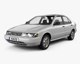 3D model of Nissan Sentra 1995