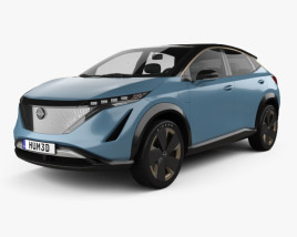 3D model of Nissan Ariya concept 2019