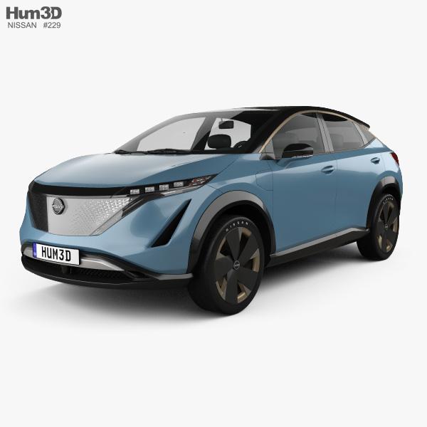 Nissan Ariya concept 2019 3D model