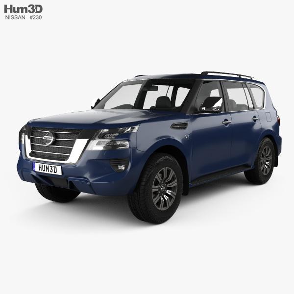 Nissan Patrol Ti 2020 3D model