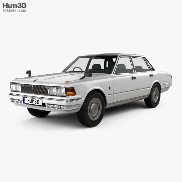 Nissan Cedric sedan 1979 3D model