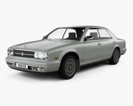 Nissan Cedric sedan 1991 3D model
